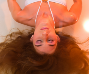 Meditate with float therapy.